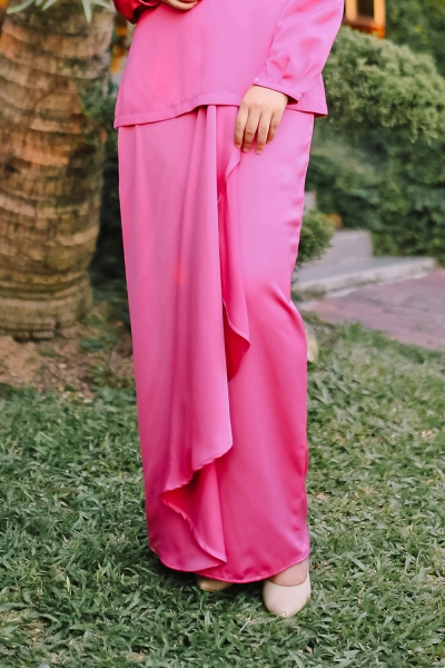 Glamorous Ruby Skirt - Royal Pink