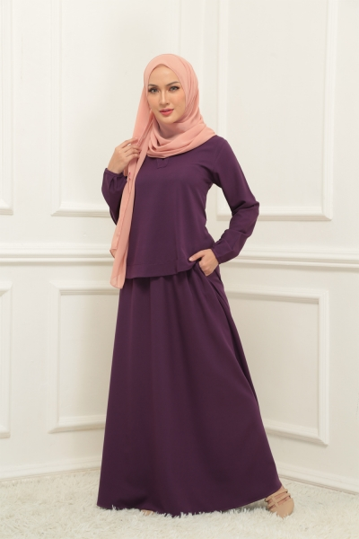 Warda Set > Dark Purple