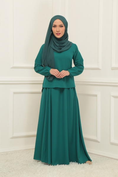 Warda Set > Pine Green