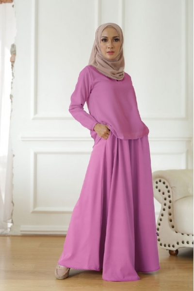 Warda Set > Sunset Purple/Sunset Pink